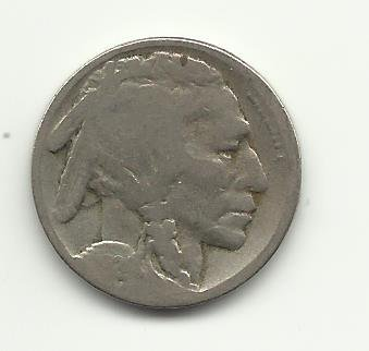 1924-S #1 Buffalo Nickel.