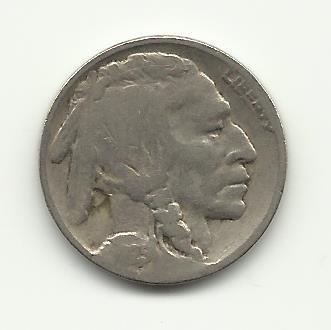 1925 #13 Buffalo Nickel