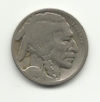 1925-S #1 Buffalo Nickel.