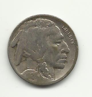 1926-S #8 Buffalo Nickel.