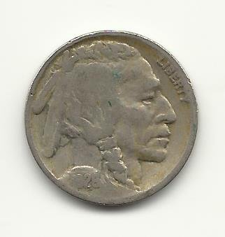 1928 #3 Buffalo Nickel