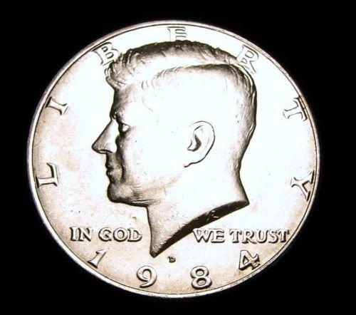 BU 1984-D   Kennedy Half Dollar.