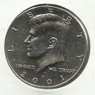 2001-D XF to AU typical  Kennedy Half