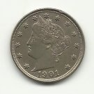 "1901 #9 Liberty Head ""V"" Nickel"