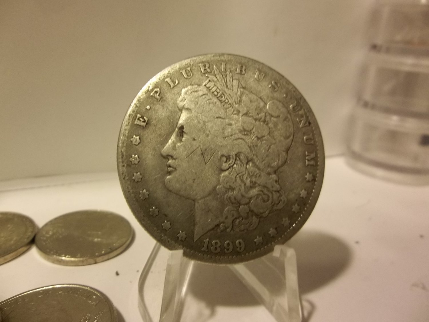 1899-O #4 90% Silver Morgan Dollar.