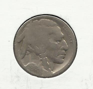 1918-D #4 Buffalo Nickel.