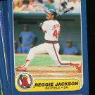 1986 FLEER ANGELS TEAM SET JACKSON CAREW NMMT-MT