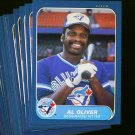 1986 FLEER BLUE JAYS TEAM SET NMMT-MT