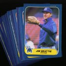 1986 FLEER MARINERS TEAM SET NMMT-MT