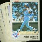 1983 FLEER BLUE JAYS TEAM SET NMMT-MT