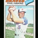 1977 O PEE CHEE #43 PHIL NIEKRO BRAVES NM OPC