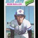 1977 O PEE CHEE #48 BOB BAILOR BLUE JAYS NM-MT OPC