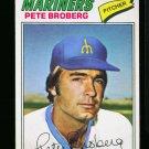 1977 O PEE CHEE #55 PETE BROBERG MARINERS NM-MT OPC