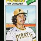 1977 O PEE CHEE #59 JOHN CANDELARIA PIRATES NM OPC