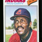 1977 O PEE CHEE #114 RICO CARTY INDIANS NM-MT OPC