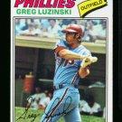 1977 O PEE CHEE #118 GREG LUZINSKI PHILLIES NM OPC