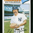 1977 O PEE CHEE #164 ED FIGUEROA YANKEES NM OPC *