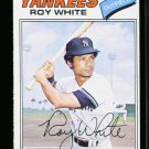1977 O PEE CHEE #182 ROY WHITE YANKEES EX-MT OPC