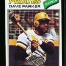 1977 O PEE CHEE  #242 DAVE PARKER PIRATES EX OPC
