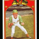 1972 O PEE CHEE #464 JIM ROLAND A'S ATHLETICS NM-MT OPC PACKFRESH