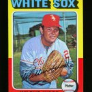 1975 TOPPS MINI #110 WILBUR WOOD WHITE SOX NM