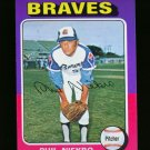 1975 TOPPS MINI #130 PHIL NIEKRO BRAVES NM