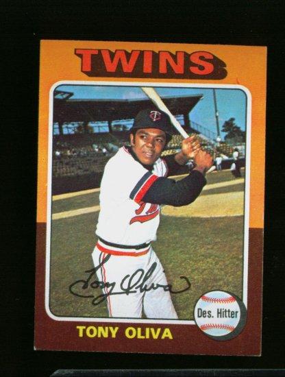 1975 TOPPS MINI #325 TONY OLIVA TWINS NM-MT