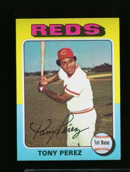 1975 TOPPS MINI #560 TONY PEREZ REDS NM