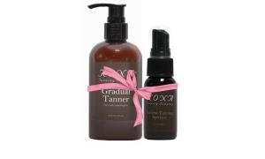 Kona Tanning Company's Tan Extending Kit:  Gradual Tanner + Spritzer (1-ounce)