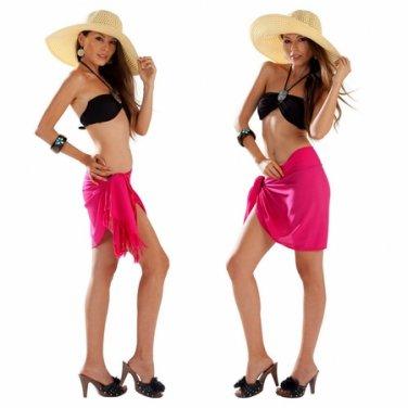 Kona Tanning Company's After Treatment Half Sarong (Hot Pink)