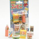 NEW Drinks Snacks Chips Japanese Eraser Carded Set IWAKO FREE Shipping
