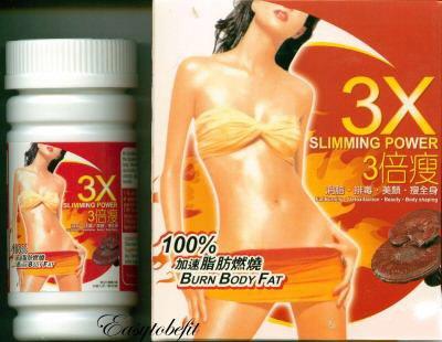 3X Slimming Power - Burn Body Fat (100 boxes  original  hot seller items)
