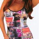 Sexy spaghetti strap mini dress