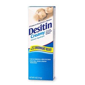 Desitin Diaper Rash Ointment, Creamy, Fresh Scent 4 oz (113 g)