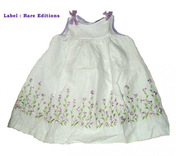 Rare Editions Purple Summer Dress