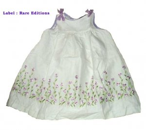 Rare Editions Purple Summer Dress