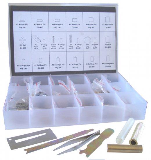 Schlage Rekey Pin Kit Locksmith Tool Box