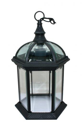 Outdoor Exterior Lantern Hanging Light Fixture Black