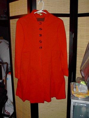 Vintage Red Coat