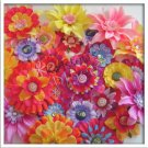 15 Flower Hair Clips - Wholesale priced - Small, Medium, and Large Flowers