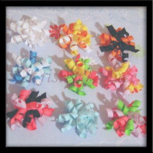 4 Korker Bows - U Choose - No Slip Grip Available