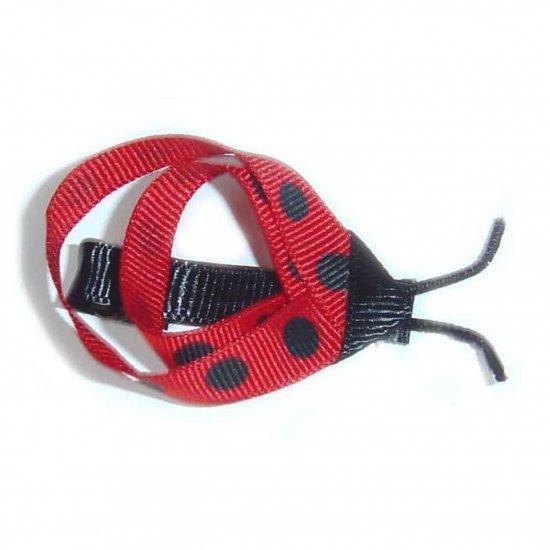 Ladybug Hair Clip - No Slip Grip Availiable
