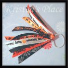 Halloween Ponytail Streamers - Orange, Black, and White