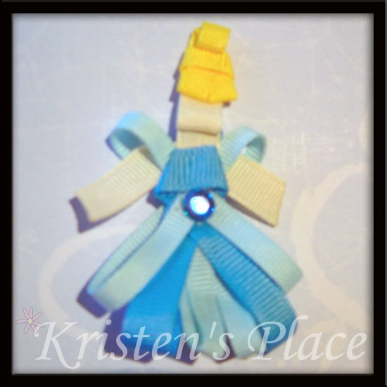 Princess Hair Clip - Boutique Princess / Fairy Character Bow