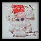 Santa Clip - Boutique Christmas Bow