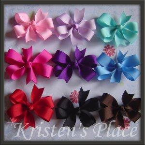 Pinwheel Bow - Large Boutique Bow - U Choose