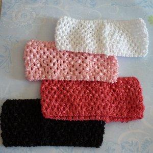 Crochet Headbands - Set of 4