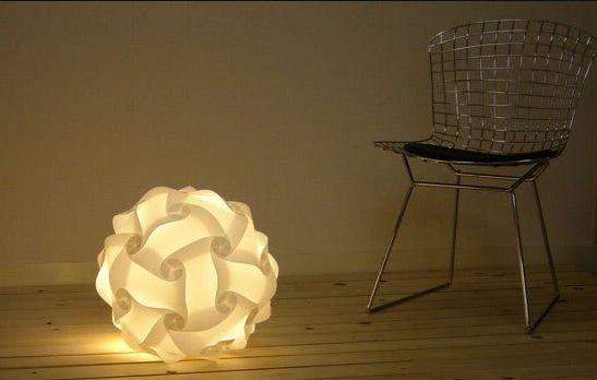 Iq Jigsaw Lamp Indoor Outdoor Lighting (Large)