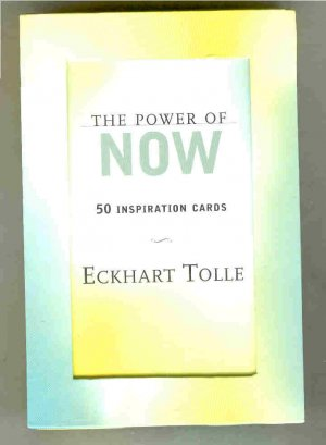 THE POWER OF NOW INSPIRATION CARDS SET
