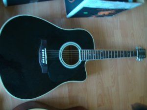 Esteban Acoustic/Electric Guitar